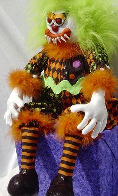 Evil KimB Klown 3/4 view