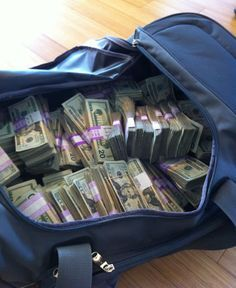 *via The Oatmeal. funny stuff!* As promised, here's the photo of $211,223.04 in cash we raised for charity Take a look at the useful duffel bags