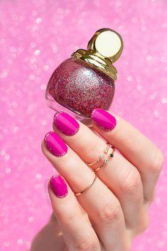 Festive Nails with Dior Diorific Dream and Happy 2020 - SoNailicious