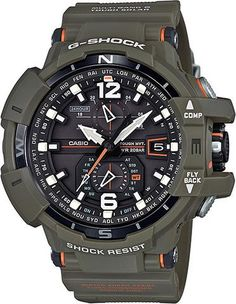 G-Shock GRAVITYMASTER Watch (Model No. GW-A1100KH-3A) #skycockpit #gshock