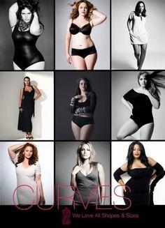 curvy girls.. Great posing