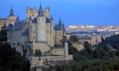 Just a short trip from Madrid lies Segovia, a thousand-year-old city that's home to one of the most famous Roman aqueducts in the world, and much more. Madrid Tours, Old City, Roman Empire, Barcelona Cathedral, Around The Worlds, Mansions, Architecture, House Styles, Building