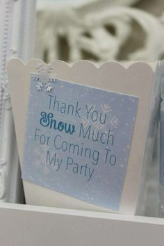 's Birthday / Frozen (Disney) - Photo Gallery at Catch My Party Winter Birthday Parties, Frozen Themed Birthday Party, 18th Birthday Party, Disney Birthday, Frozen Party, Birthday Party Themes, Themed Parties, Snow Party, Winter Wonderland Birthday