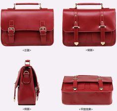 Ladies' Messenger Bags European Retro Leather Cambridge Satchels for Women - US$38.99 - amandabagsshop.com