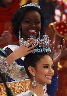 Miss Philippines Megan Young is crowned Miss World 2013 in Nusa Dua
