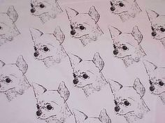 1 yard Chihuahua Smooth Craft Fabric by HotDiggityDogFabrics, $11.25