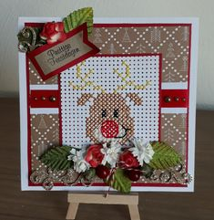 Cross Stitch Christmas Cards, Cross Stitch Cards, Christmas Cross, Christmas Wishes, Cross Stitch Embroidery, Cross Stitch Patterns, Xmas, Diy Jewelry Inspiration, Marianne Design