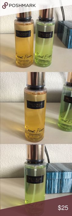 2 NEW VICTORIA SECRET FRAGRANCE NEW VS COCONUT PASSION AND SWEET ESCAPE FRAGRANCE NEVER USED!! Been sitting in my cabinet for awhile thought it was time to let someone else enjoy 😊 Victoria's Secret Other