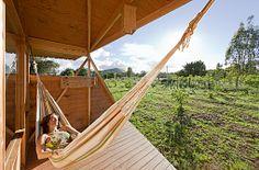 Modern Design - Vacation Rental - Eco Cabanas, Rapa Nui, Easter Island