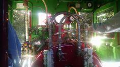 [OC] Ernest S. Marsh Cab Interior Modified 2-4-0 Porter 3ft Narrow Gauge - Disneyland Railroad - 12/16/2015 [1920 X 1080]