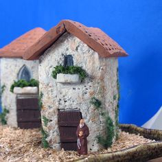 The Hermitage - Small Handmade French Country Sanctuary - HO Scale by Nicholas and Sofie of bewilderandpine.
