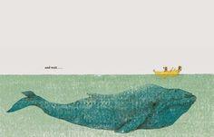 Ilustración de Géraldine Alibeu     Dicen que en algunas ocasiones menos es más. En el ámbito del álbum ilustrado podemos encontrarnos tan...