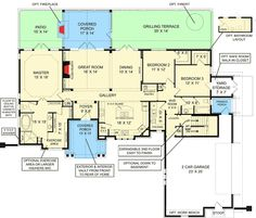 Classic House Plan With In-law Apartment Option