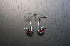 Garnet Seer earrings