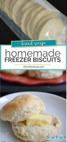 Prep ahead and make this simple Homemade Freezer Biscuits Recipe. So simple to p… Prep ahead and make this simple Homemade Freezer Biscuits Recipe. So simple to pop in the oven before dinner! Freezer Biscuit Recipe, Homemade Freezer Biscuits, Biscuit Dough Recipes, Homeade Bread, Bisquick Recipes, Biscuit Bread, Bread Machine Recipes, Bread Recipes, Pork Recipes