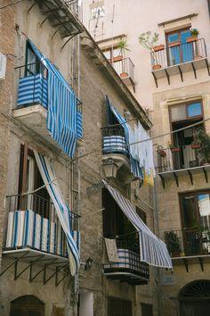 balconies, Palermo Sicily
