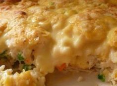 Chicken & Biscuit Casserole Recipe