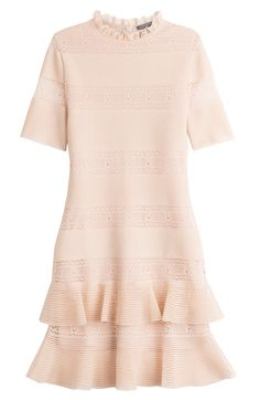 Alexander McQueen Bandage Dress with Silk