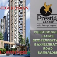 Prestige Elysian the newly launched pre-launch on the Bannerghatta Road will be a retreat for the people who want to stay in the heart of the city.
