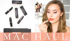 MAC Haul and Swatches | Hello October
