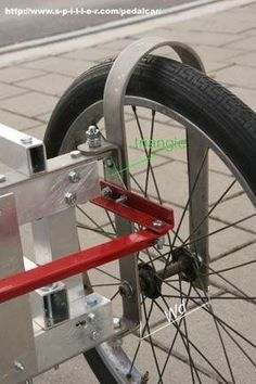 Home Made Pedal Car Pedal Cars Bicycle Trailer Bike Trailer