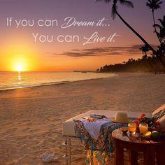#Dreams come true... #quote #Cancun #travel