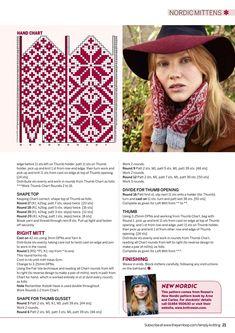 Crochet Mittens Free Pattern, Knit Mittens, Knitting Socks, Mitten Gloves, Knit Crochet, Crochet Hats, Knitting Stiches, Knitting Charts, Knitting Needles