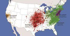 East vs West Coast Earthquakes