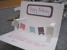 Little Miss Sophie Stampin up Kinder Geburtstag Karte