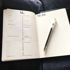 """80 Likes, 1 Comments - @minimalbujolove on Instagram: """"Did two changes on my monthly spread for May.  1. The dates are in the middle so I can separate…"""""""