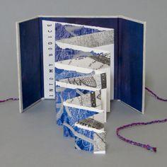 Into my Bodice by Annwyn Dean 2015 Concertina Book, Accordion Book, Up Book, Book Art, Paper Book, Paper Art, Arte Pop Up, Libros Pop-up, Kirigami