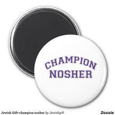 Jewish Gift-champion nosher
