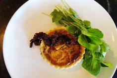 Heirloom tomato pie with bacon marmalade by South City Kitchen Vinings in Smyrna, GA