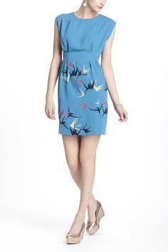 Shadowbird shift dress