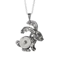 Look what I found at UncommonGoods: Wonderland Bunny Necklace for $125.00