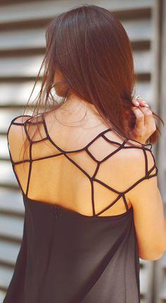 pająk na plecach