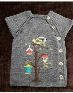 Baby Knitting Patterns, Knitting For Kids, Knitting Stitches, Knitting Designs, Cute Crochet, Crochet Baby, Knit Crochet, Baby Sweaters, Girls Sweaters