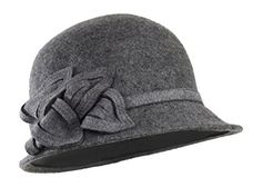 Grey 100% Wool Winter Cloche Hat w/ Adjustable Inner Draw... https://www.amazon.com/dp/B01KU457NK/ref=cm_sw_r_pi_dp_x_Xa4sybKMC5HG6