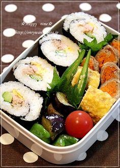 Sushi Roll Bento