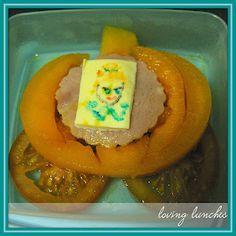 Loving Lunches  cinderella pumpkin (rockmelon) coach