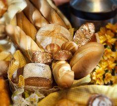 Nuestro pan recién horneado