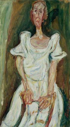 La Fiancée (Chaïm Soutine, circa 1923, Musée de l'Orangerie, Paris)