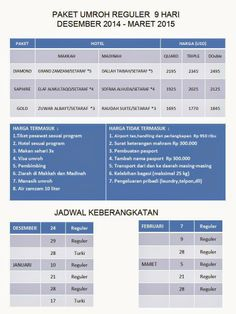 Nava Tour Travel Umroh Jakarta: Paket Umroh Desember 2014 dan Awal Tahun 2015