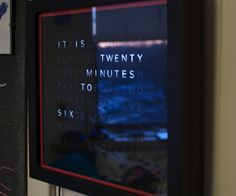 Inspired by drj113's great instructable on making a word clock, I wanted to make my own. After seeing the (extremely overpriced) commercial qlocktwo...