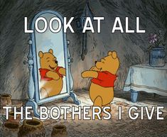 Pooh Bear just does't care. This is an amusing pic of Pooh Bear exclaiming how he couldn't give a crap. Gif Disney, Disney Love, Disney Magic, Disney Wiki, Animation, Winnie The Pooh Gif, Winnie The Pooh Dancing, Animiertes Gif, Animated Gif