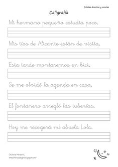 Barbie Coloring Pages, Calligraphy Letters, Kindergarten Activities, School Teacher, First Grade, Lettering, Education, Neymar, Language