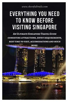 Singapore Travel Guide If you are planning to visit Singapore or considering it as one of the destinations you would want to visit, here's an ultimate Singapore Travel Guide which [& Singapore Travel Tips, Visit Singapore, Malaysia Travel, Singapore Trip, Singapore Itinerary, Travel News, Travel Guides, Travel Stuff, Travel Hacks