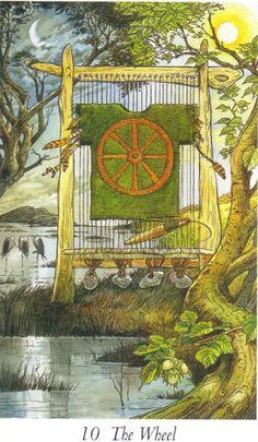 The Wheel - Wildwood Tarot