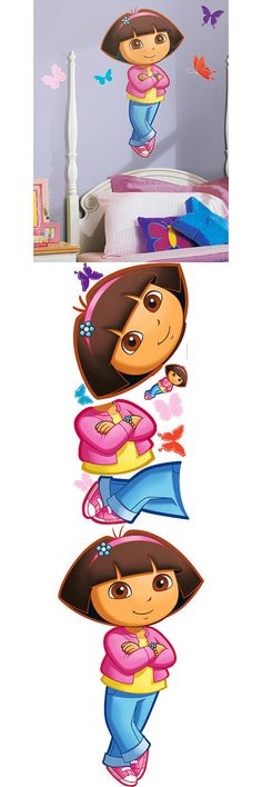 Other Nursery Wall D cor 20430: Roommates - Dora Peel Stick Giant Wall Decal Free Shipping -> BUY IT NOW ONLY: $31.21 on eBay!