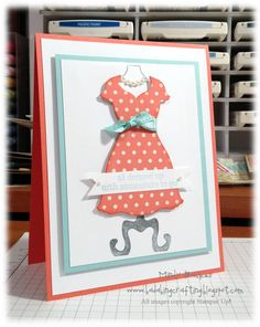 Bada-Bing! Paper-Crafting!: All dressed up!